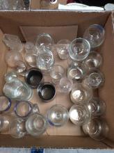 Assorted Glassware Lot