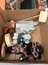 Kachina & Native American Items Lot