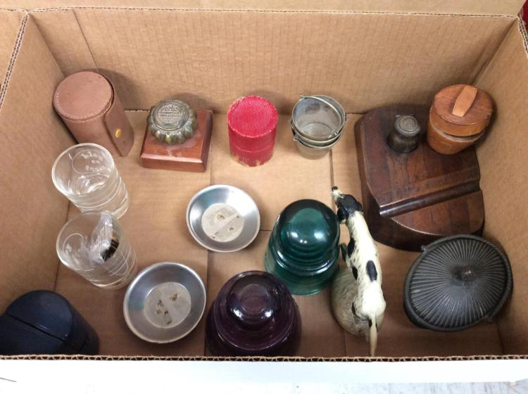 Ink Well & Traveling Glasses Lot