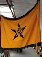 Presidential Seal & Star Flag w/ Pole & Stand