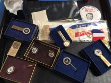 Presidential Inauguration Pins & Tie Clips