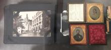 4Pc. Antique Photographs & Serigraphs