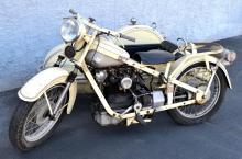 1949 Nimbus Type C, Motorcycle w/ Sidecar
