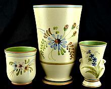 Vintage Weller Pottery Vases Bonito (3)