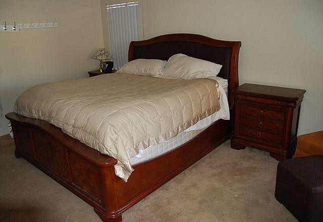 5 pc collezione europa king size bedroom set