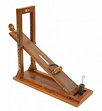 Antique Cussons Wooden Inclined Plane