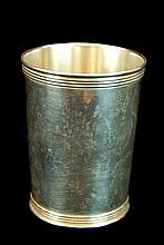 Trees Sterling Silver Tumbler