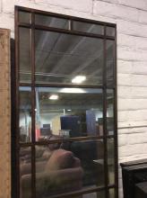23 Panel Wrought Iron Mirror