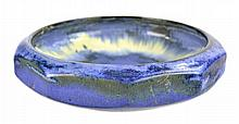 Fulper Ten-Sided Art Pottery Bowl