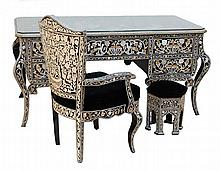 Anwar El Sadat Inlay Palace Desk Suite
