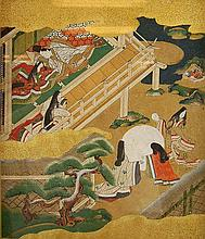 Tosa School (16th/17th Century) Tale of Genji #1