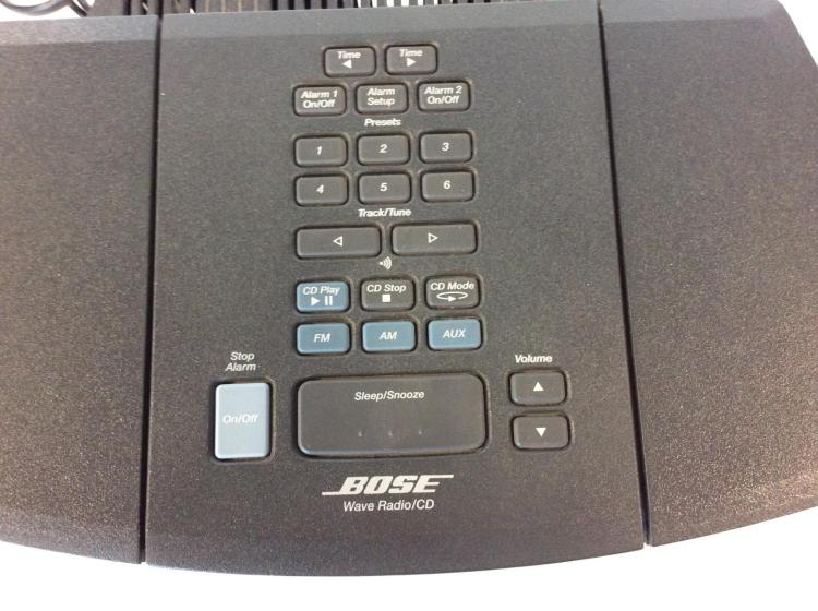 Bose Wave Radio, CD Player, Alarm, Model AWRC1G