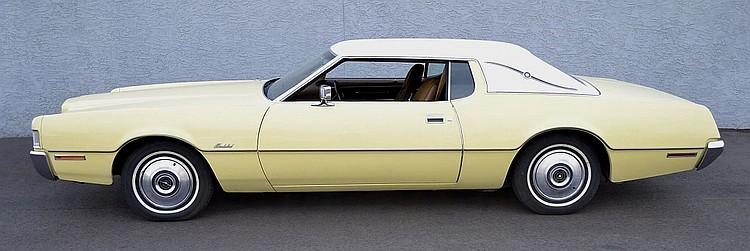 1972 Ford Thunderbird 460 V-8 Cruise-O-Matic