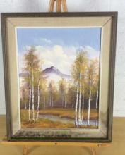 Eirene Mountain View Oil on Canvas