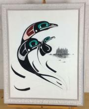 Danny Dennis Alaskan Tribe Mixed Media