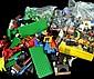 Lego Pieces & Figures, Trees, Horses, Etc.