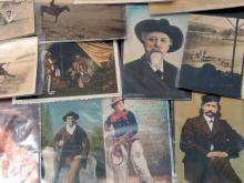 34Pc Western Postcards Buffalo Bill, Calamity Jane