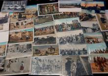 72Pc Vintage Western Rodeo Postcards