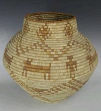 Native American Woven Basket
