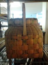 Native American Potato Stamp Basket