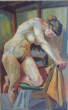 Nude Oil Painting on Canvas