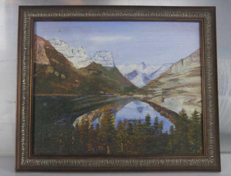 Percy Plainswoman Oil Painting