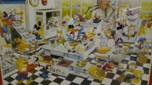 Mickey Mouse Chocolate Factory Print