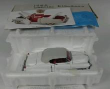 Franklin Mint 1953 Cadillac Model w/ Display Case