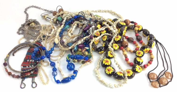 Assorted Costume Jewelry Bracelets & Necklaces