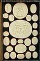 Italian Volume of Plaster Intaglio Casts, 19th Century