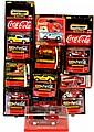 Coca Cola Matchbox Cars, Revell, Majorette, Solido