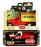 3 Coca Cola Advertising Die-Cast Toy Trucks