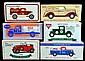 6 Die-Cast Bank Cars / Trucks, Eastwood Co., ERTL
