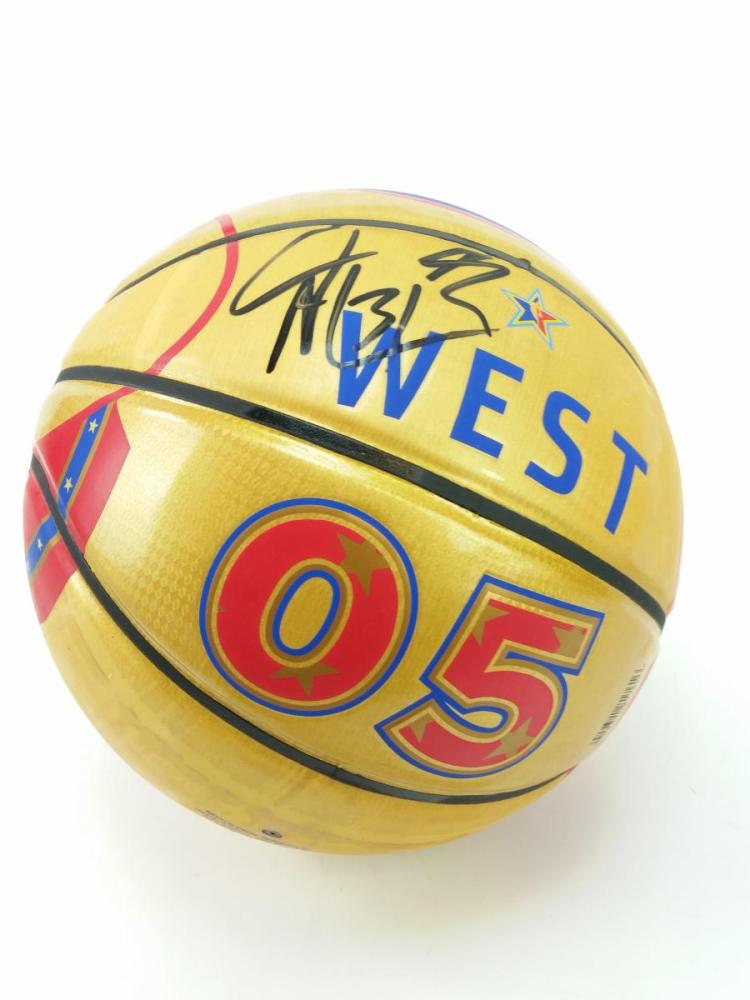Shawn Marion Signed 05' All Star Ball