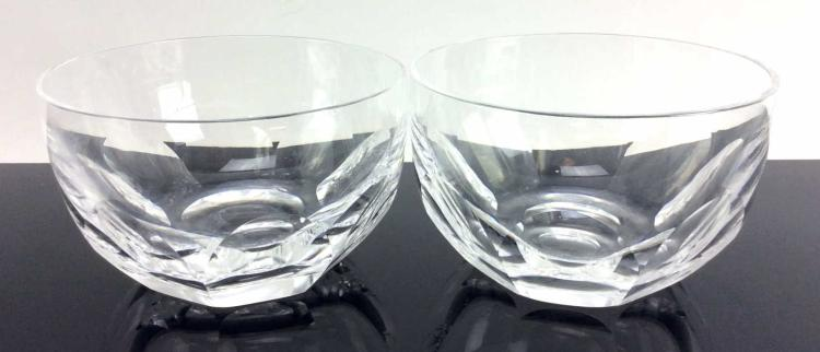 2Pc. Waterford Crystal Finger Bowls, Sheila