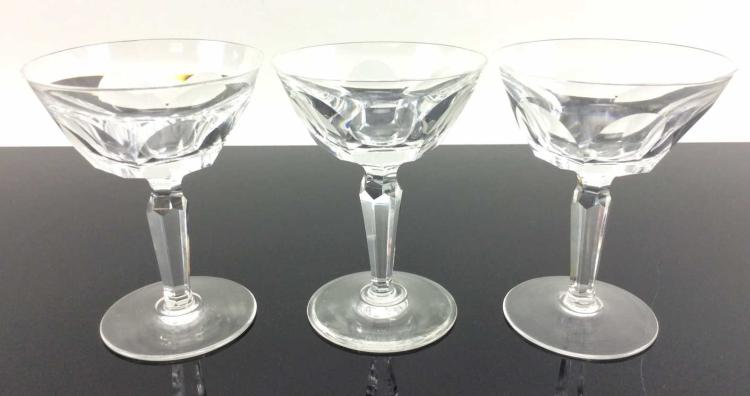 3Pc. Waterford Crystal Liqueur Cocktails, Sheila