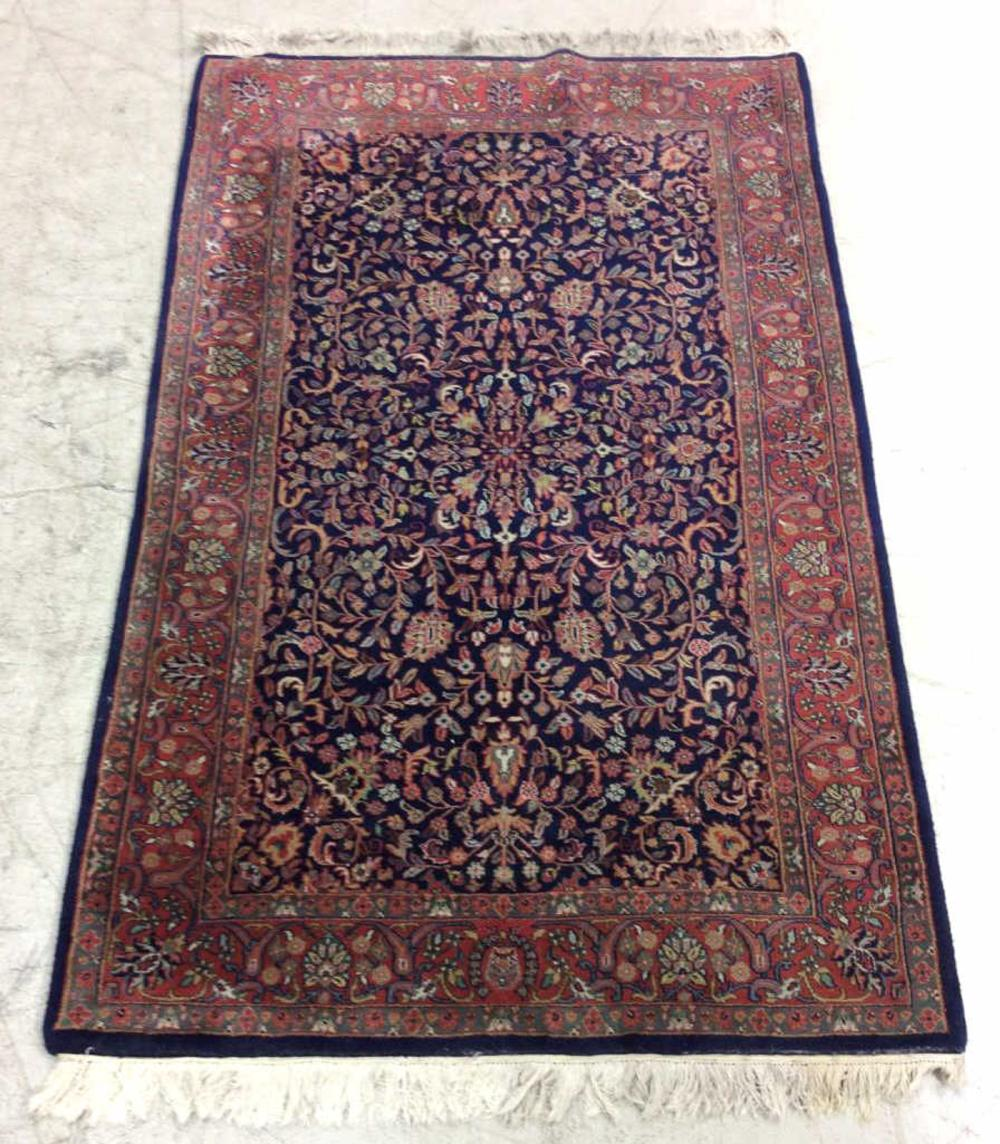 20th C. Persian Hand Woven Area Rug