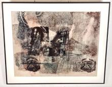 Charles Mitchell Untitled, Abstract Polka Print