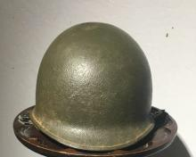 WW II US Government Military helmet