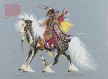 Woody Crumbo (1912-1989) Silkscreen Pair
