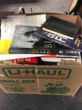 Large Box Lot Of Various Books & Magazines