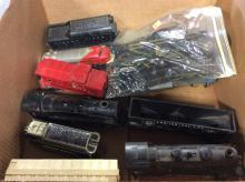 Toy Train Box Lot
