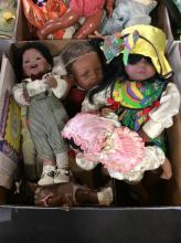 Assorted Vintage Baby Dolls Box Lot 1