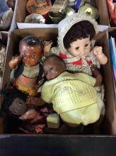 Assorted Vintage Baby Dolls Box Lot  2