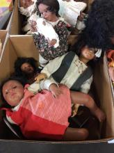 Assorted Vintage Baby Dolls Box Lot  5
