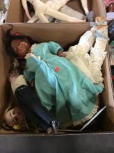 Assorted Vintage Baby Dolls Box Lot  8