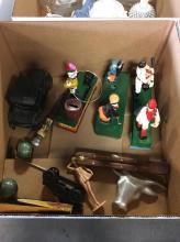 Nostalgic Piggy Banks & Various Items Box Lot