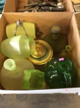 10+ Frosted Glass Box Lot