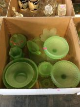15+ Frosted Glass Box Lot