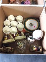 Assorted Figurine & Decorative Plates Box Lot